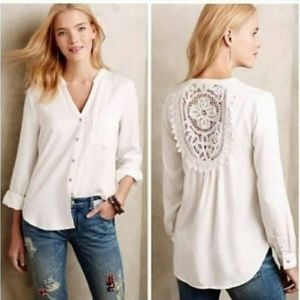 Anthropologie Holding Horses Button Up